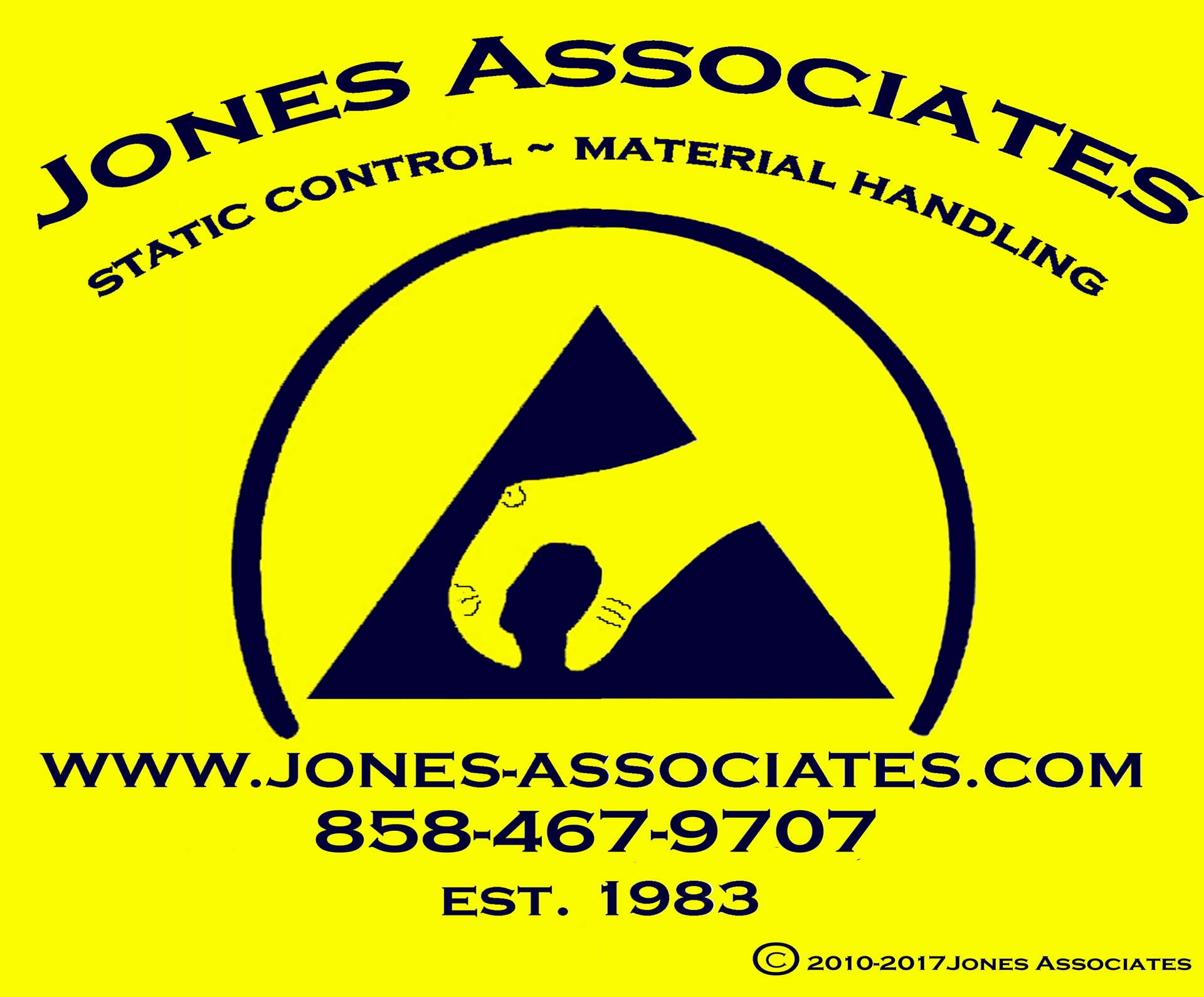 jones associates, ESD, static control, material handling and seismic safety product specialist