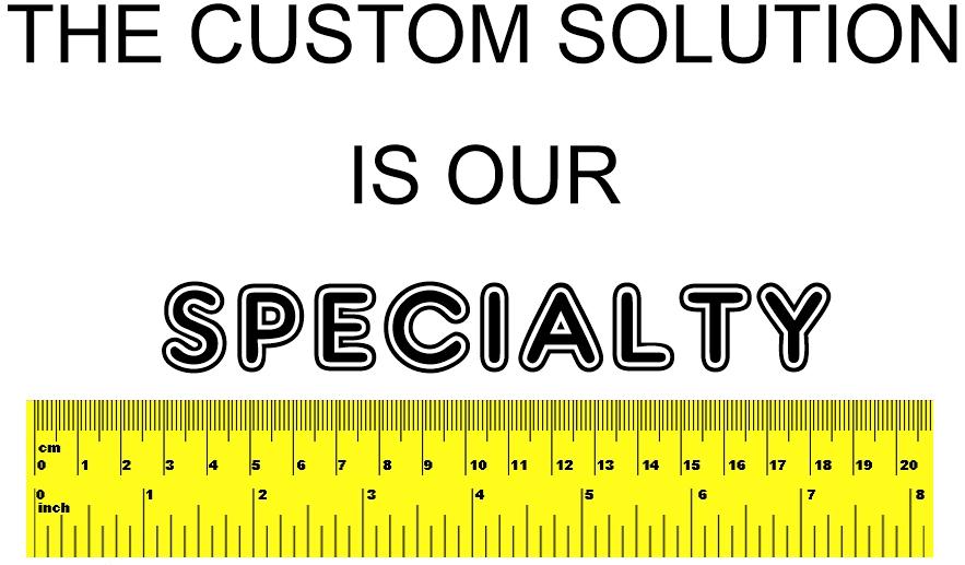 custom cut logo