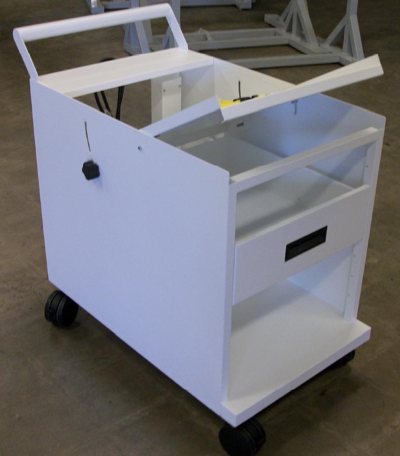 1181BZ Testmobile System Cart Material Handling