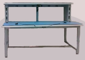 single-tier lab bench