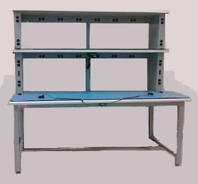 double tier lab bench ESD, static control,